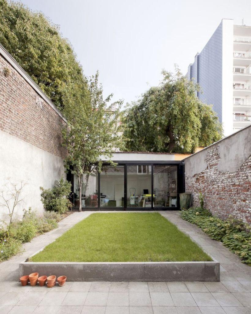 39 Amazing Townhouse Courtyard Garden Designs