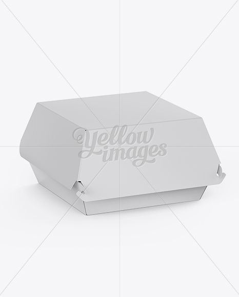 Rectangle Packaging Box Mockup Free Download