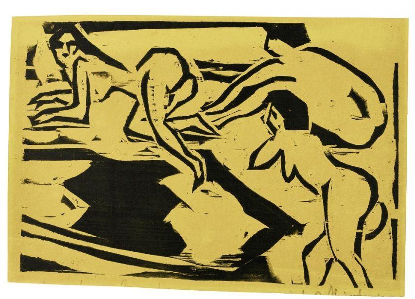 Slideshow:Ernst Ludwig Kirchner Prints at Sotheby's by Nicholas Forrest (image…