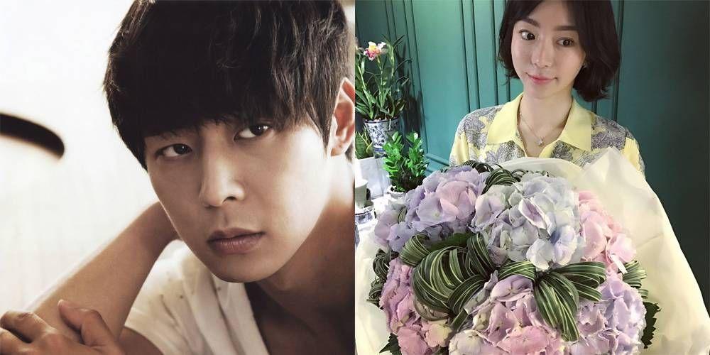 Yoochun y Hwang Hana (la que se va a casar con él)