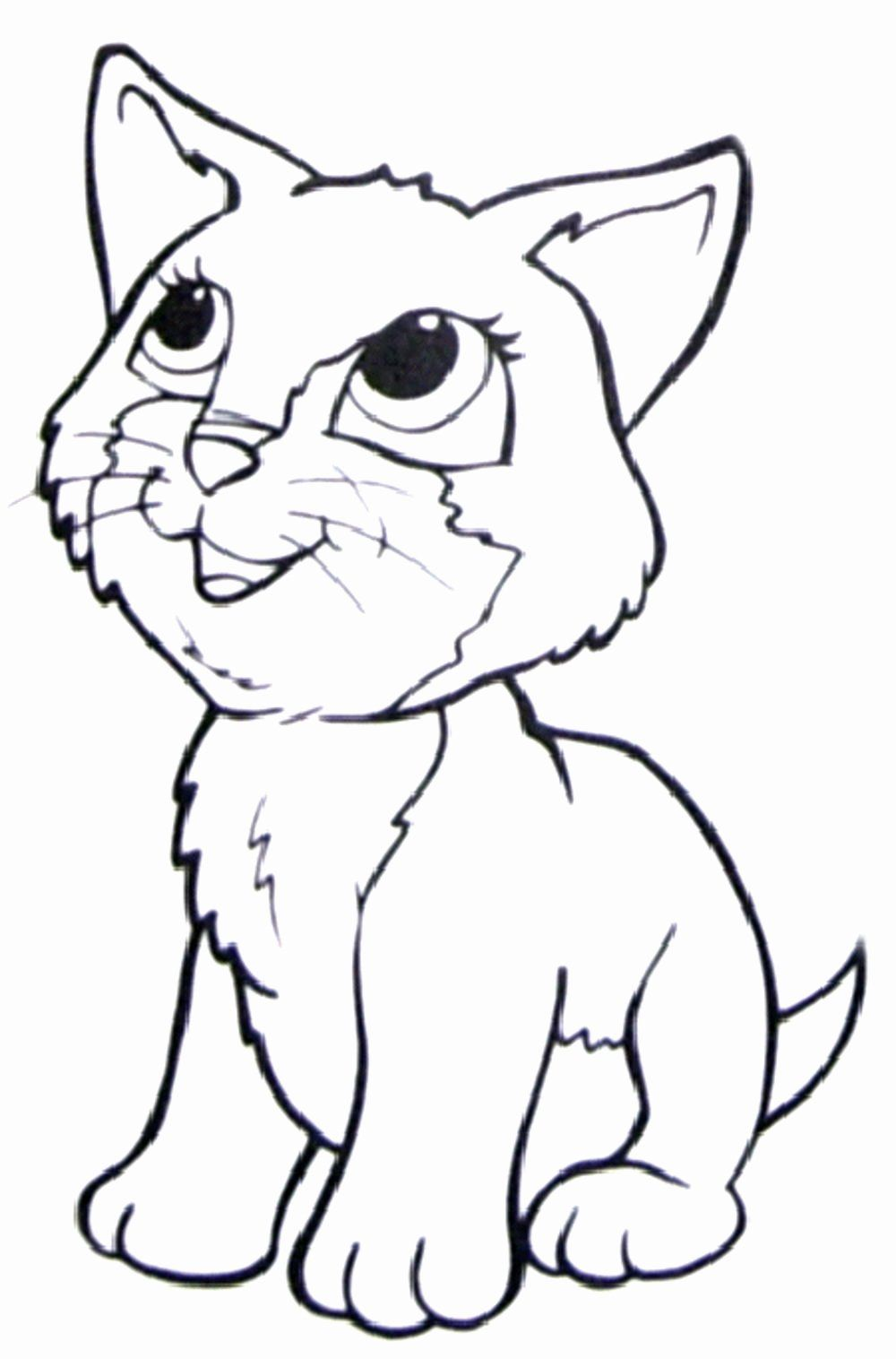 Cat Coloring Pages Cute Elegant Free Coloring Pages Cats