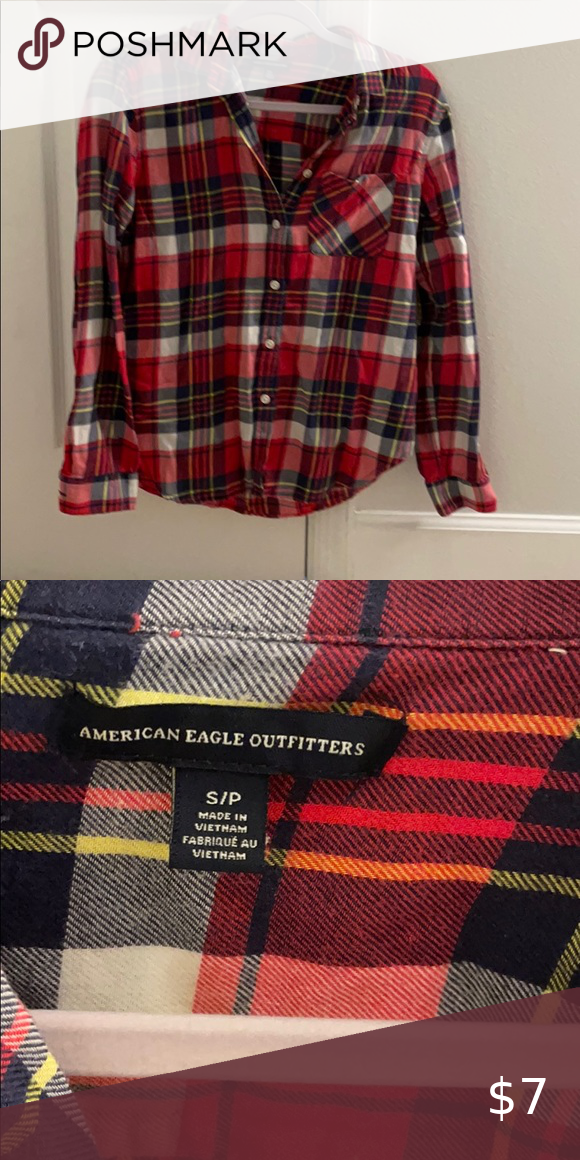 Red Flannel shirt size small