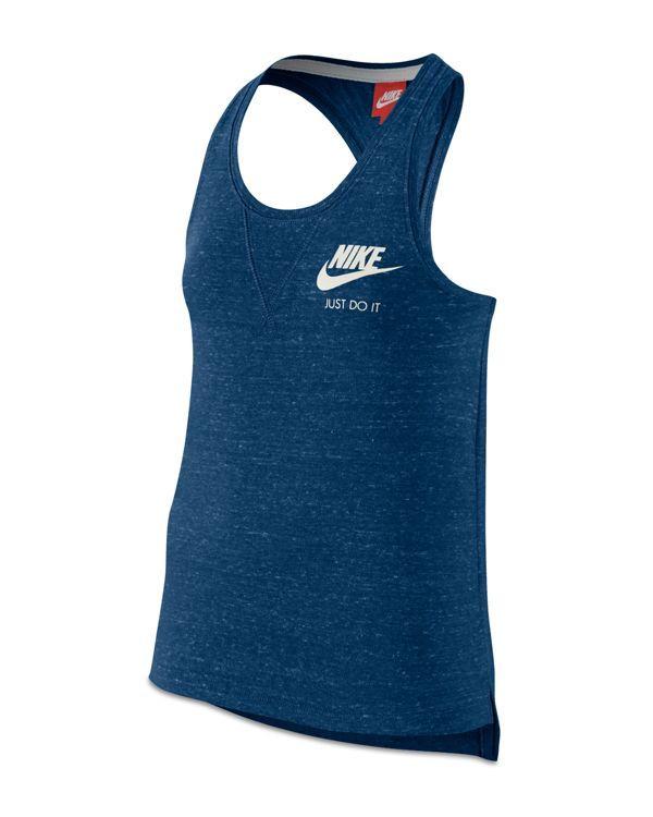 e0ff5e44 Nike Girls' Gym Vintage Racerback Tank - Big Kid   Products ...