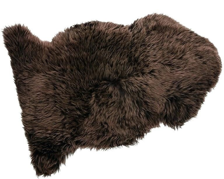 Gleaming Brown Fur Rug Snapshots Good And Sheepskin Chocolate