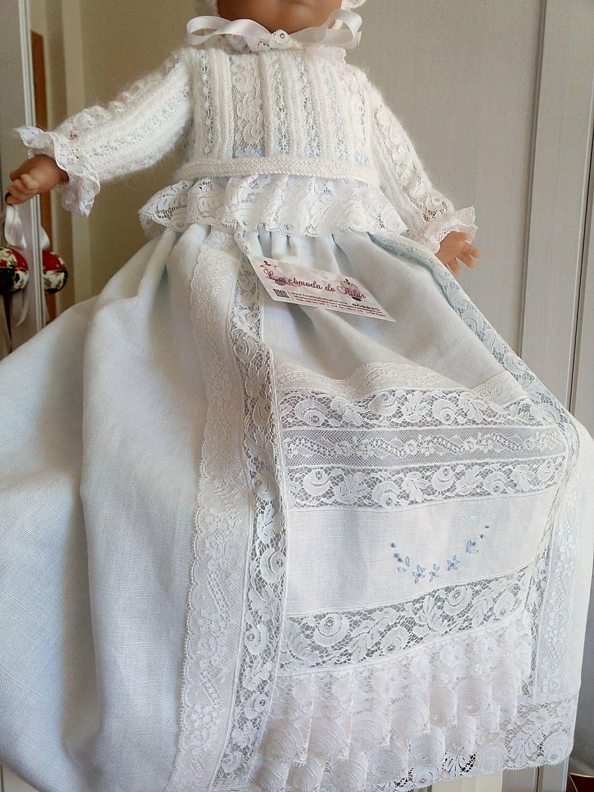 Blog de ropa artesanal para bebé, , bautizo, comunión y novia ...