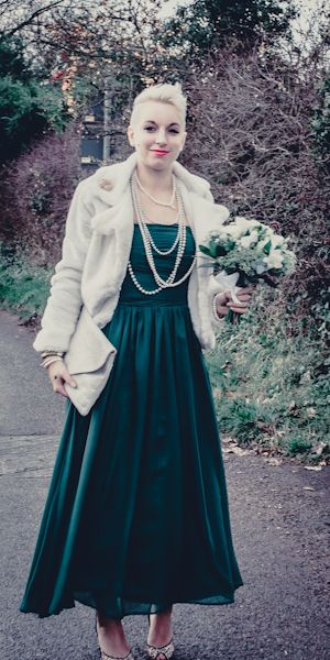 1940\'s INSPIRED BRIDAL GOWNS | Winter Vintage inspired DIY Wedding ...
