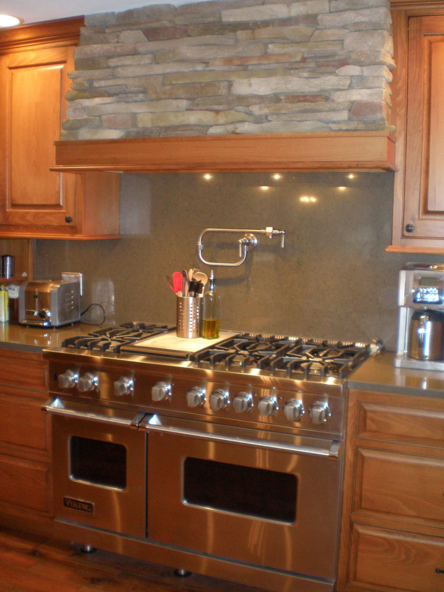 viking range and custom hood cultivate viking kitchens