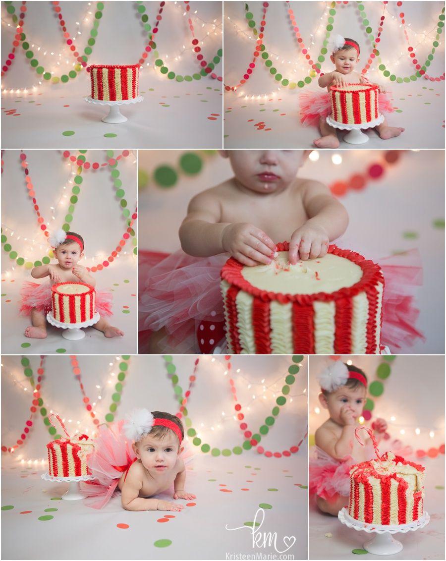 Christmas Birthday Plaid Cake Smash Christmas Photo Prop Boy Cake Smash Outfit Boy 1st Birthday December Birthday