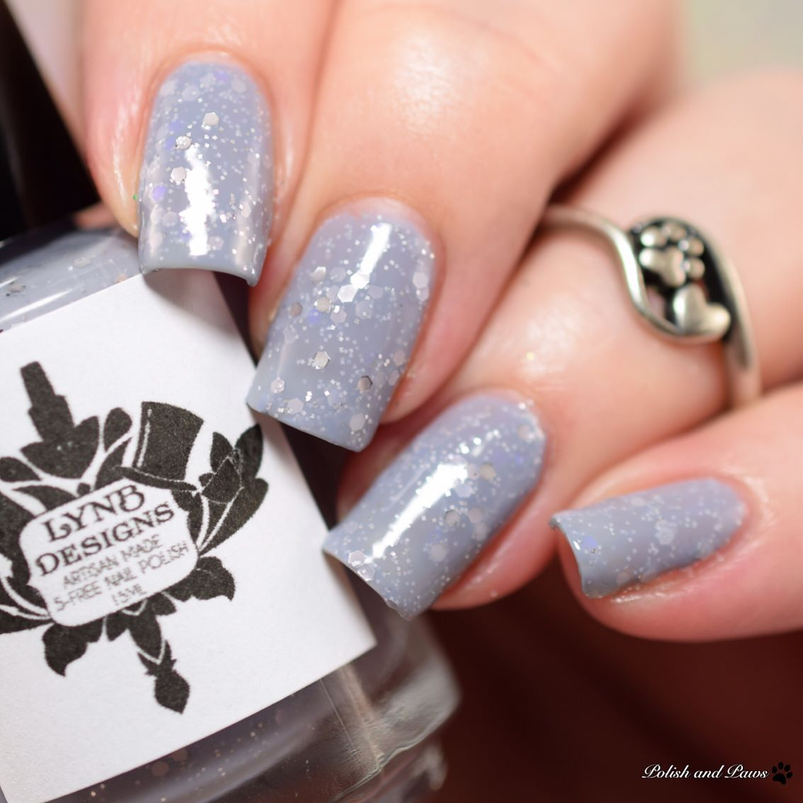 Littlefoot by @lynbdesigns is a purple toned grey crelly base with ...