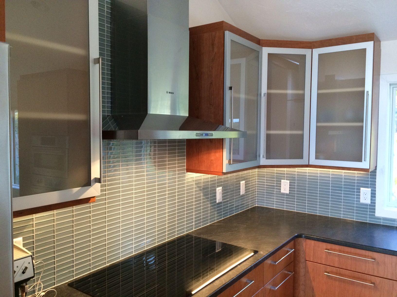 Vivaro Aluminum Kitchen Cabinet Doors in Natural Aluminum ...