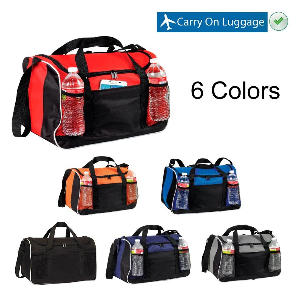 b7ae1856e5 Duffle Bag 17 BuyAgain Small Travel Carry On Sport Duffel Gym Bag. -- Find  out more about the great product at the image link.(It is Amazon affiliate  link) ...