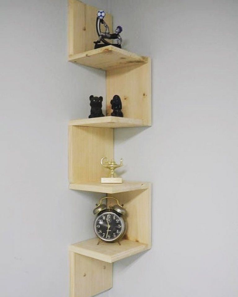 35 Smart Corner Shelf Design Ideas That Will Change Your Room Style Engineering Discoveries In 2020 Corner Shelf Design Wall Shelves Living Room Shelf Design