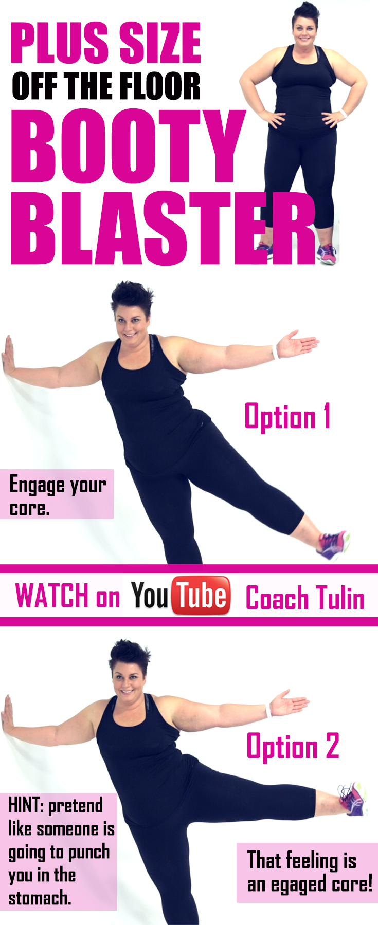 The idea or a side plank in yoga, pilates, or PIYO was not possible when I started, however, not impossible! Building your core and booty doesn't have to happen on the floor. Using a wall or even standing up right while holding on to the back of a chair a http://www.erodethefat.com/blog/lean-belly/