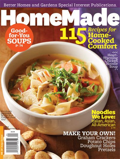 Better Homes And Gardens Soup Recipes Magazine