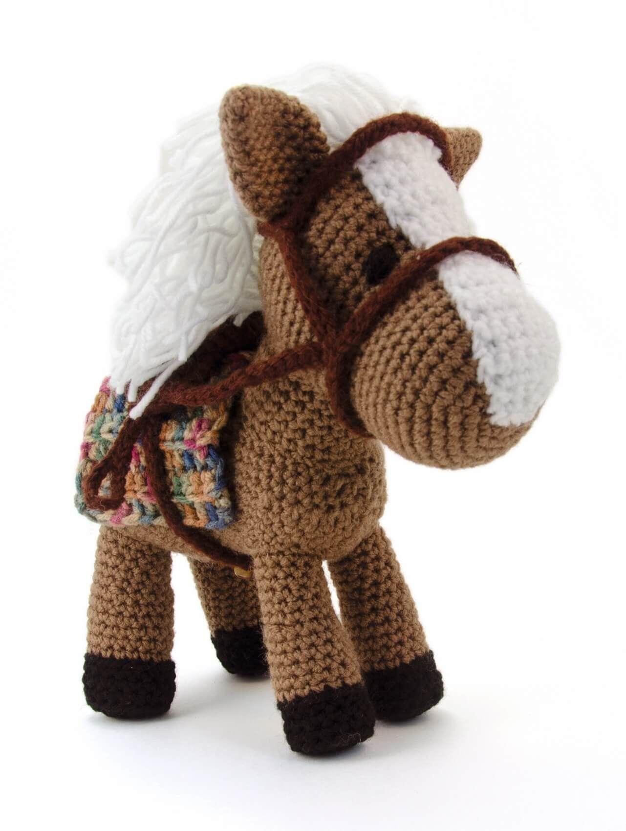 Hektor das Pferd | Pferde, Häkeln und Häkelanleitung
