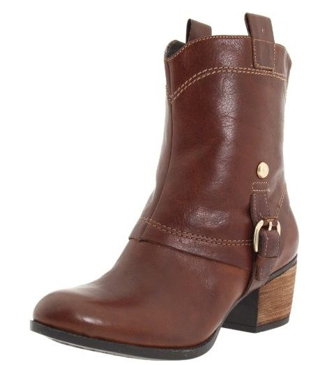 Clarks Saloon Laurel in Brown Leather #Clarks #Shoes #Boots #FallFashion #Champaign #IL