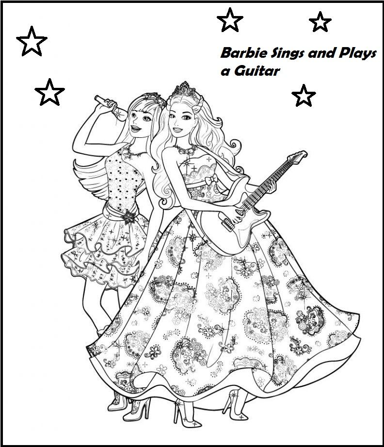 Singer Coloring Pages To Pique A Child S Interest In Vocalist