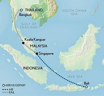 Change to kuala lumpur wanderlust pinterest bangkok legends of the east by luxury train bangkok to singapore bali gumiabroncs Gallery