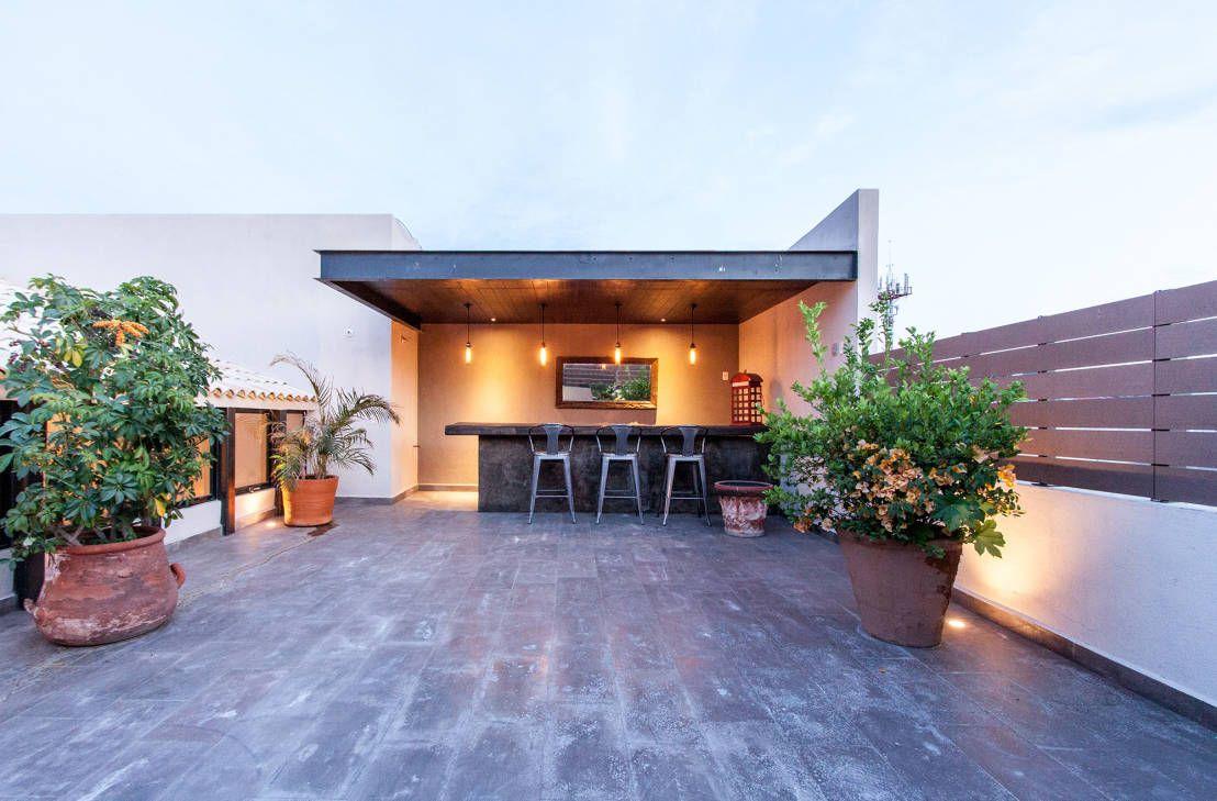 Iluminaci n de exteriores 6 ideas para casas modernas for Casa moderna jardin d el menzah