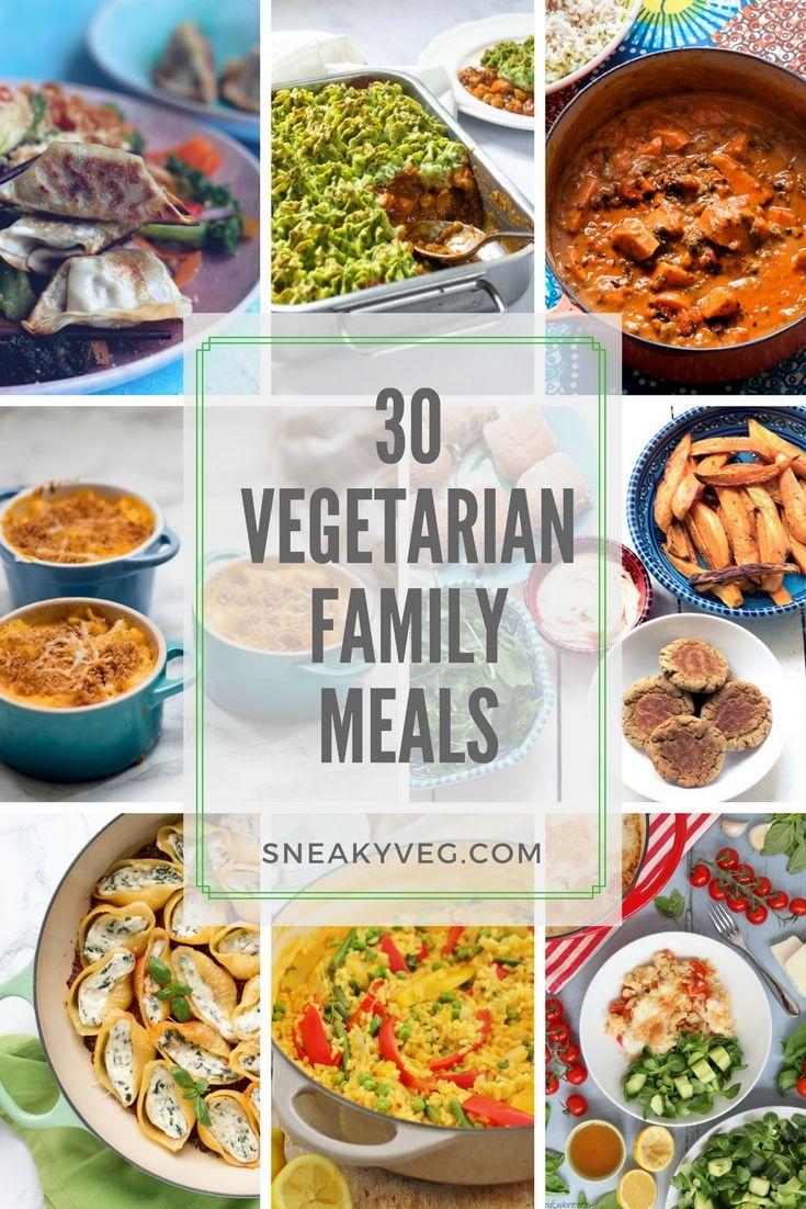 30 Delicious Vegetarian Family Meals Vegan Recipes