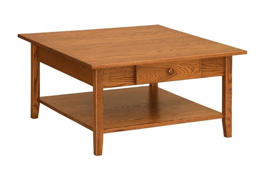 Amish Shaker Square Coffee Table Coffee Table Square Coffee Table Shaker Furniture
