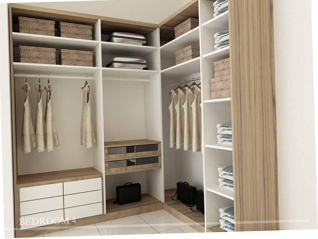 Desain-Lemari-Pakaian-Modern-Untuk-Desain-Interior-Modern-bedroom ...