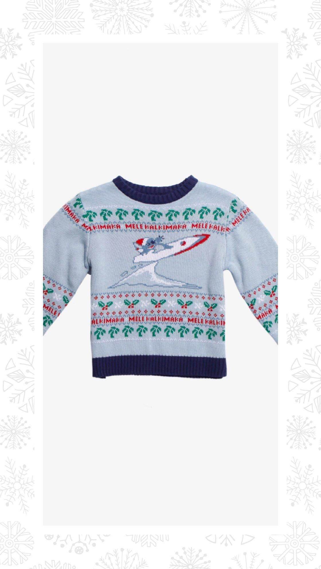 45b33397fc Disney Lilo & Stitch Holiday Toddler Sweater - BoxLunch Exclusive ...