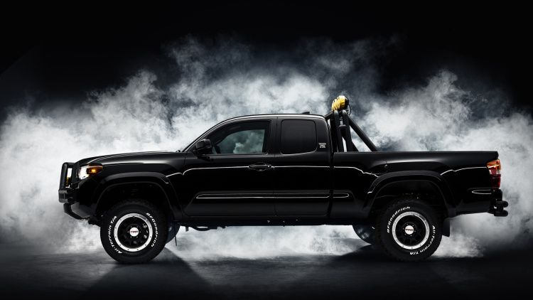 Great Scott Back To The Future Toyota Tacoma Concept Is Awesome