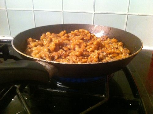 caramelised walnuts recipe