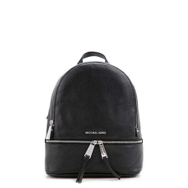 c8a6711f2c40 Michael Kors Black Padded Leather Backpack.  women  summer  backpacks   womenfashion  summerstyle  bags  summertime  womenwear  spring  trendalert
