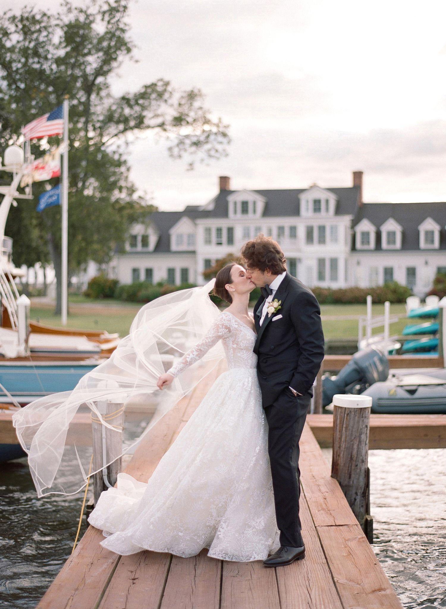 Romantic Sunset Portraits Inn At Perry Cabin Wedding St Michael S Maryland Wedding Photos Maryland Wedding Cabin Wedding Saint Michaels Maryland