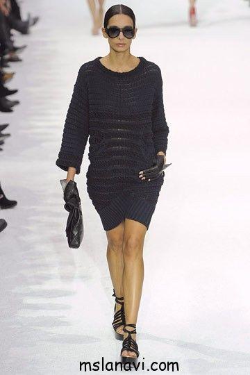 Вязаное платье от Шанель | Вяжем с Лана Ви