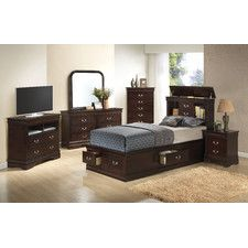 Corbeil Storage Platform Customizable Bedroom Set  Beds Glamorous Bedroom Sets With Storage Decorating Design
