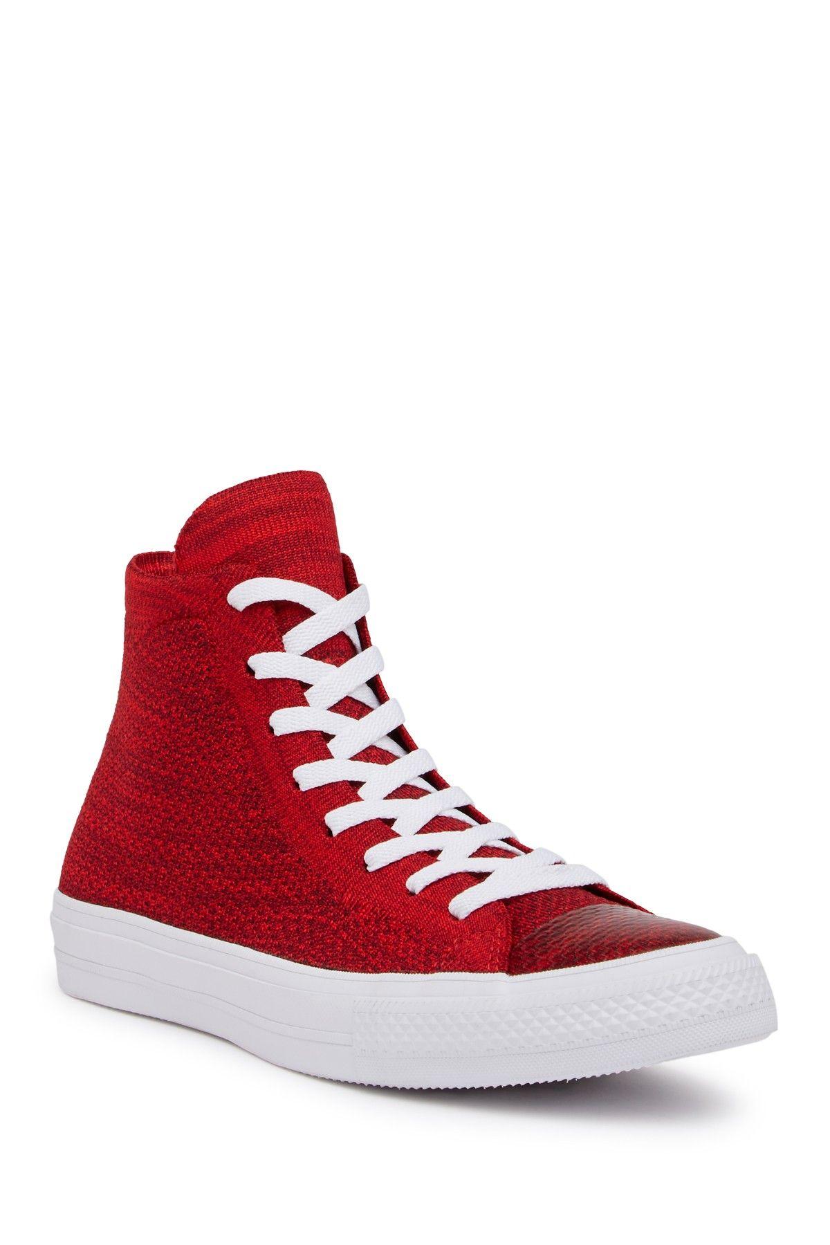 c4279db56a34 Converse Chuck Taylor All Star x Nike FlyKnit Hi-Top Sneaker (Unisex ...