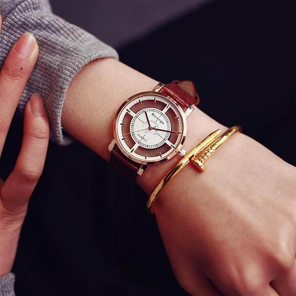 Simple Fashion Unique Luxury Women Watches Neutral Fashion Casual Wrist Watch Watches, Parts & Accessories Jewelry & Watches