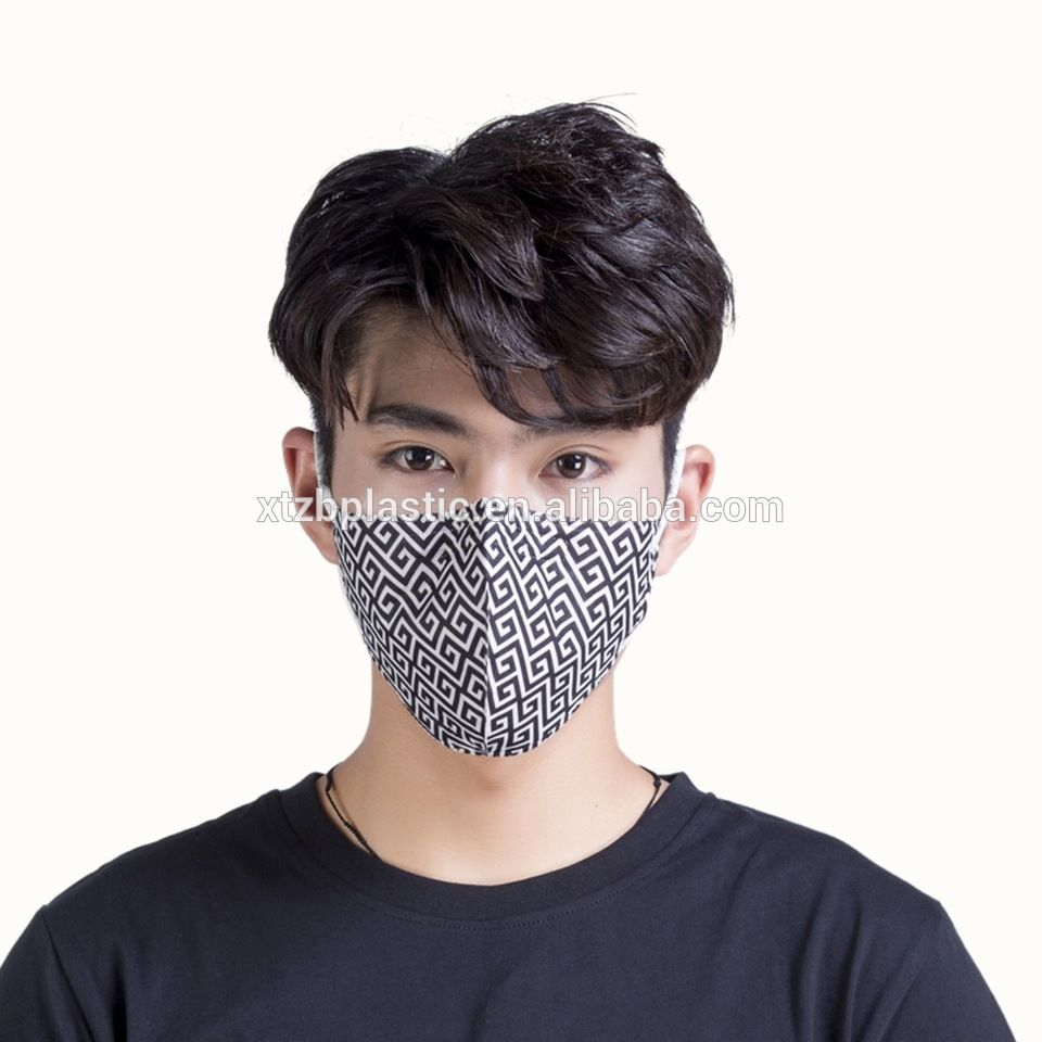 Disposable PPE products custom design printed fashion face