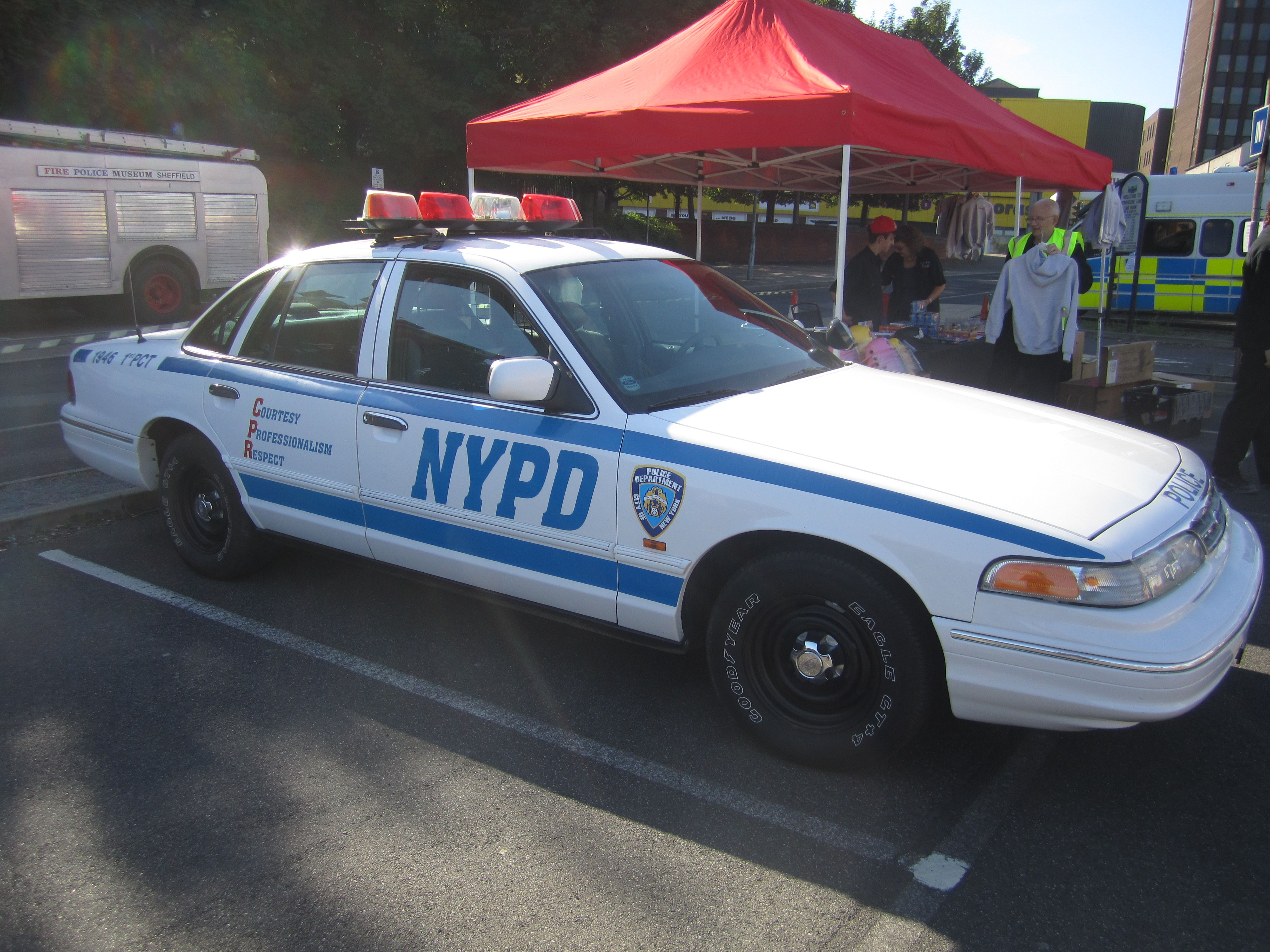 Nypd New York Police Department Crown Victoria Police Car