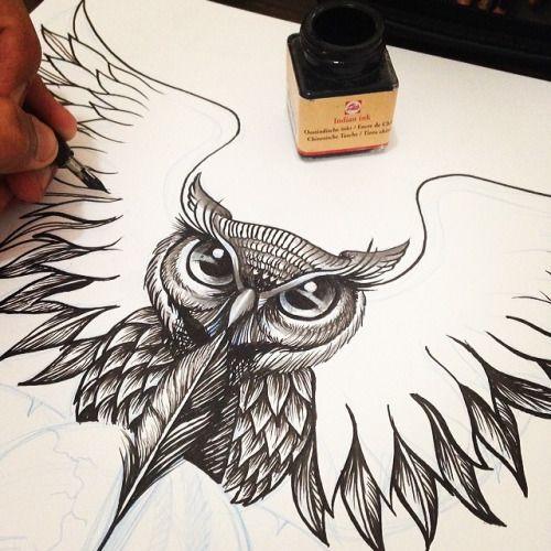 desenhando corujas - Pesquisa Google