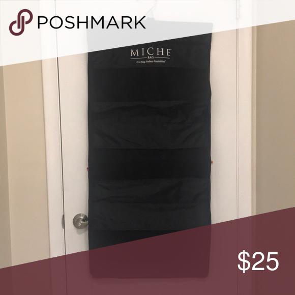 Miche bag large closet organizer for purses