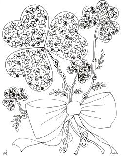St. Patrick\'s Day free coloring page | Pinterest | Craft, Free ...