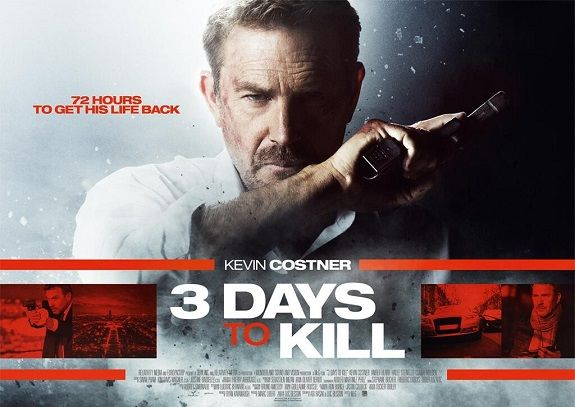 Movie Review 3 Days To Kill 2014 3 Days To Kill Kevin Costner Love Film