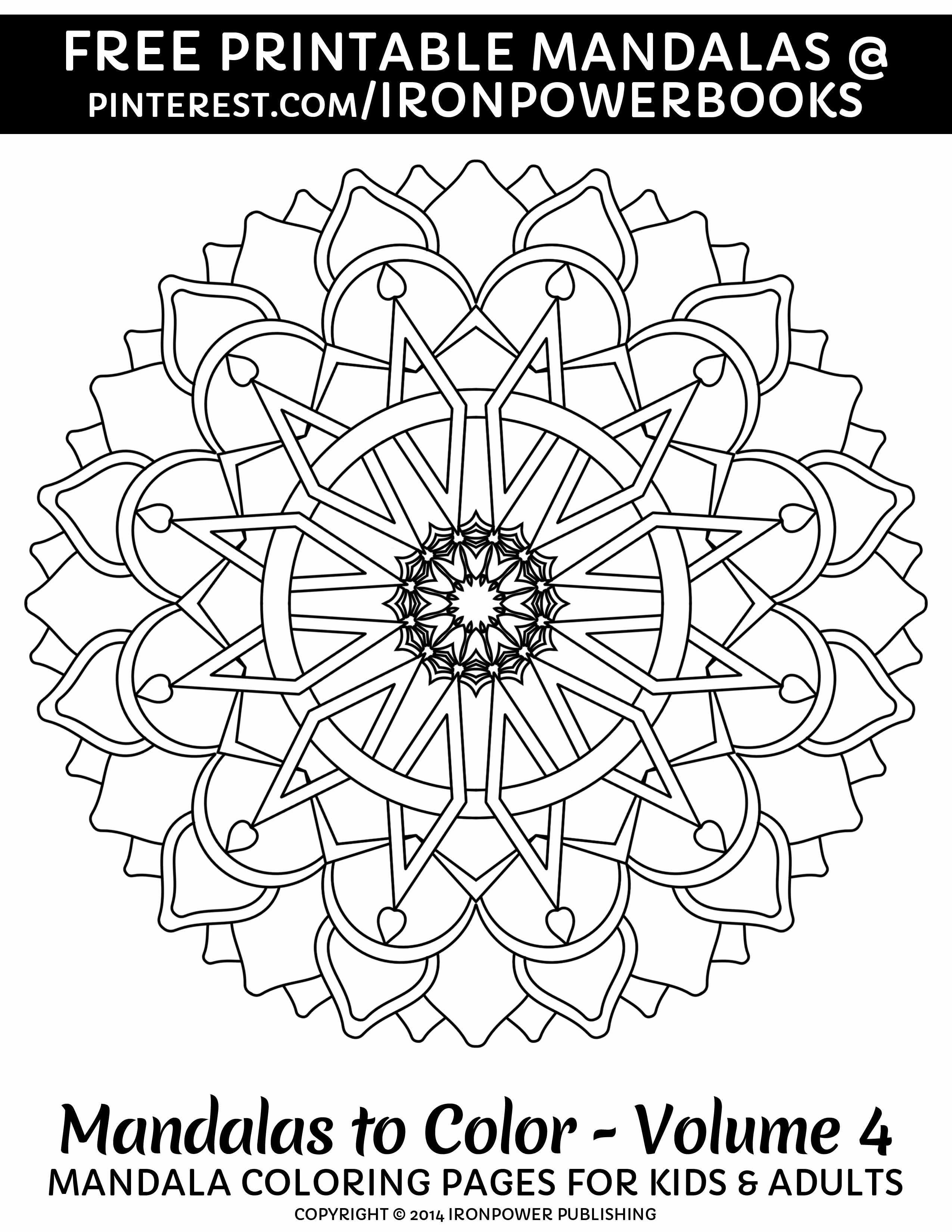 More Free Mandala Ironpower Publishing