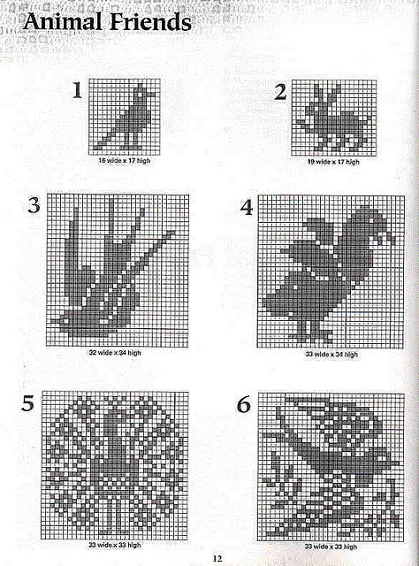 101 Filet Crochet Charts 12 | Flickr - Photo Sharing!