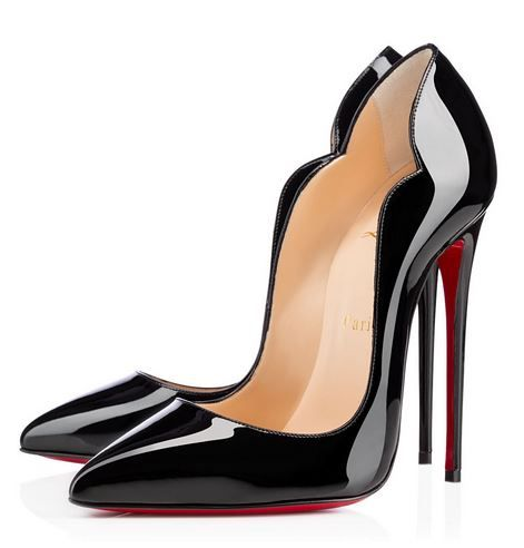 fdfcad348 Christian Louboutin 'Hot Chick' 130mm | Must Haves | Black patent ...