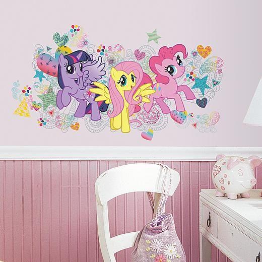 Kmart Com Pony Wall My Little Pony Bedroom Wall Decals