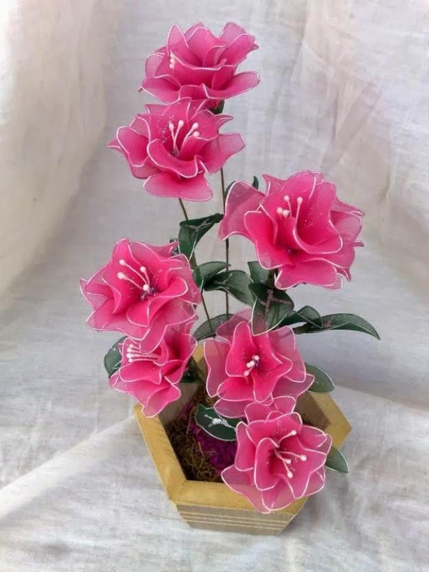 Flores De Meia De Seda Fleur Avec Collant Meias De Seda