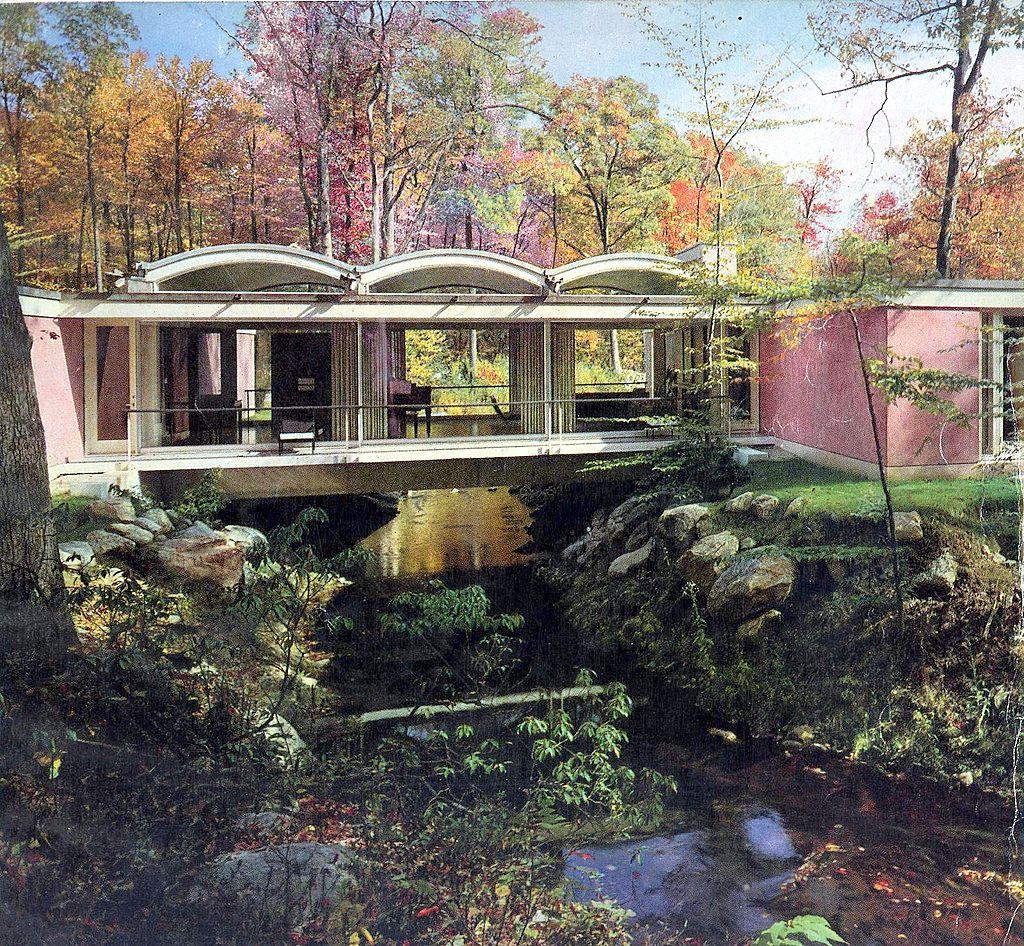 Mid-Century Modern \u201cBridge House\u201d By John Johansen   House ...