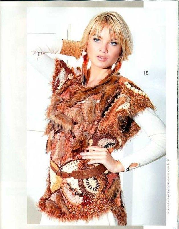 Häkelanleitungen - FRESH Zhurnal MOD Fashion 552 knit and crochet - ein Designerstück von Duplet bei DaWanda