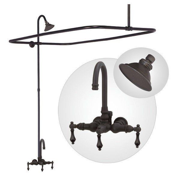 Clawfoot Tub Enclosure - Shower Kit | Vintage Tub & Bath ...