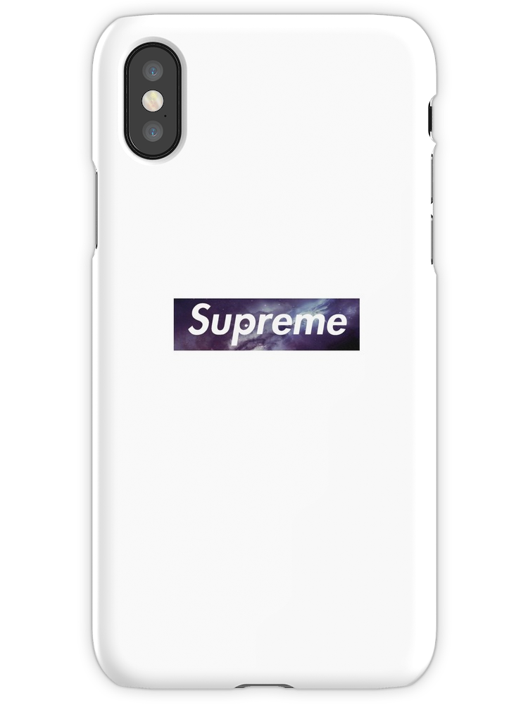 promo code 4ee9b b267a Supreme Galaxy iPhone X Snap Case | Products | Supreme phone case ...